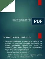 SUPORTES DESCONTÍNUOS