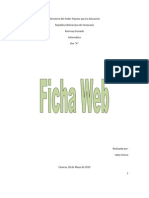 Ficha Web