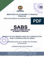 Dbc_obras_por Excepcion Huarina - Achacachi 3ra Invitacion