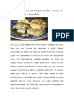 Biscuits de Manjericão Roxo e Queijo Parmesão