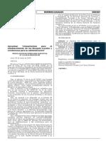 Lineamientos para el establecimiento de los Bosques Locales y condiciones para su administración