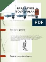 PARARAYOS AUTOVALVULARES