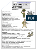 English for the Military