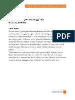 HP DeskJet Case Report