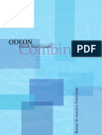 Quick Start Guide Combined odeon