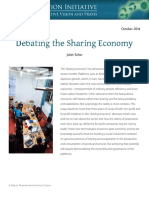 Schor Debating the Sharing Economy