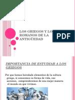 Los Griegos y los Romanos de la Antigüedad.pptx