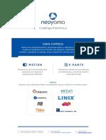 Neoyama Catalogo Completo