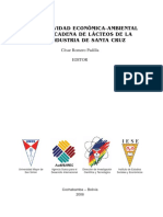 COMPETITIVIDAD ECONÓMICA-AMBIENTAL PARA LA CADENA DE LÁCTEOS DE LA AGROINDUSTRIA DE SANTA CRUZ
