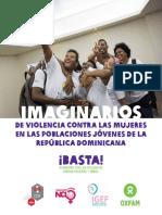 Imaginarios de violencia contra las mujeres en las poblaciones jóvenes de la República Dominicana