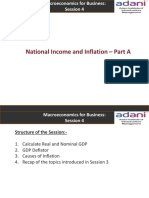 Session 4 - National Income and Inflation - Part A