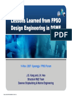 0711 DSME Lessons Learned FPSO JIP Public Rev.1