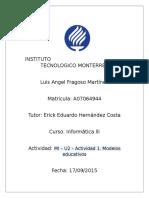 MI – U2 – Actividad 1. Modelos educativos.docx
