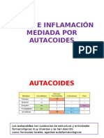 Dolor e Inflamación Mediada Por Autcoides