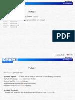 Thema Partizip Partizipialkonstruktion