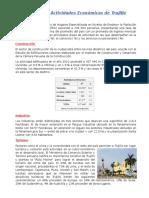 Principales Actividades Económicas de Trujillo