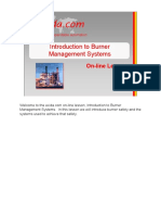 Introduction to burner managment