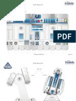 R2 D2 Papercraft Star Wars Star Tours Printable 0213
