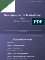 Resistencia de Materiales Tema 1 Parte 1