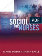 Sociology for Nurses (Chpt 1 - What is & 2 - Why Should Nurses Study), 2005