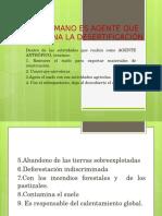 8. Características de Los Diversos Tipos de Suelos Desertificos.