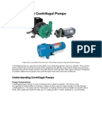 How to Select Centrifugal Pumps