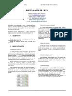 Informe Multiplicador de 2 Bits