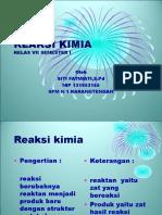 Reaksi Kimia 2.ppt