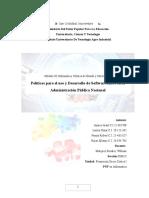 Políticas para el uso y Desarrollo de Software Libre en la Administración Pública Nacional
