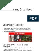 Solventes Orgânicos- Neurofisio