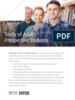 how to reach prospective adult students