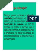 Aula Seis Sigma