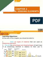 Chapter 2 - Biological Sensing Element