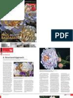 International Artist magazine article featuring Paul Baldassini