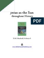 Jesus as the Sun