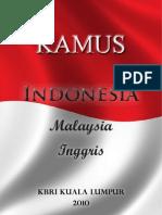 Kamus indonesia-malaysia