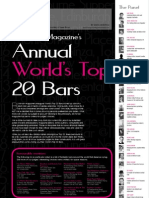 Bartender Magazine's Annual World's Top 20 Bars