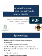 Taller Densitometría Ósea