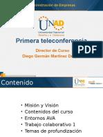 Teleconferencia Primera