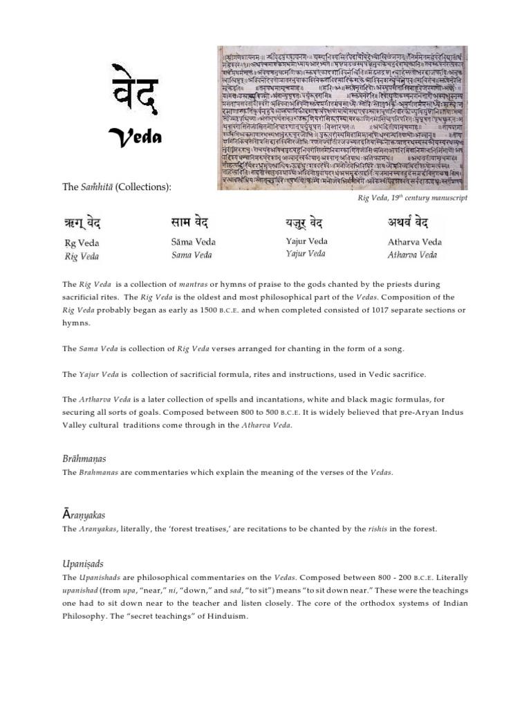 The Vedas Vedas Vishnu