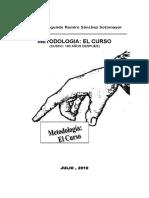 Bases de Metodologia El Curso Para Huancayo