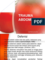 S1 Sem 7 Trauma Abdomen