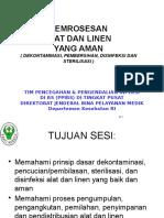 Pemrosesan Alat & Linen (R)