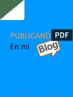 Publicando en Mi Blog