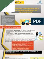 4. Métodos Cuantitativos Para La Toma de Decisiones
