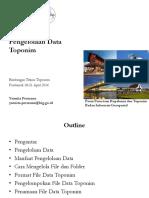 Pengelolaan Data Toponim