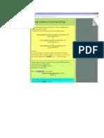 Critical Care Drug Formula