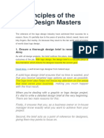 10 Principles of the Logo Design Masters