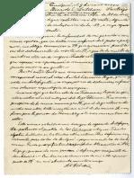 Carta 1911 Enero 9 Quilpué Chile a Ricardo E. Latcham.