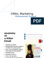 The Five W_s of Email Marketing
